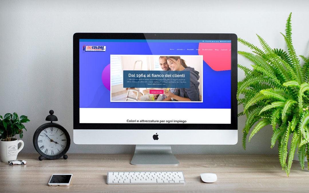 Online il nuovo sito Idea Colore