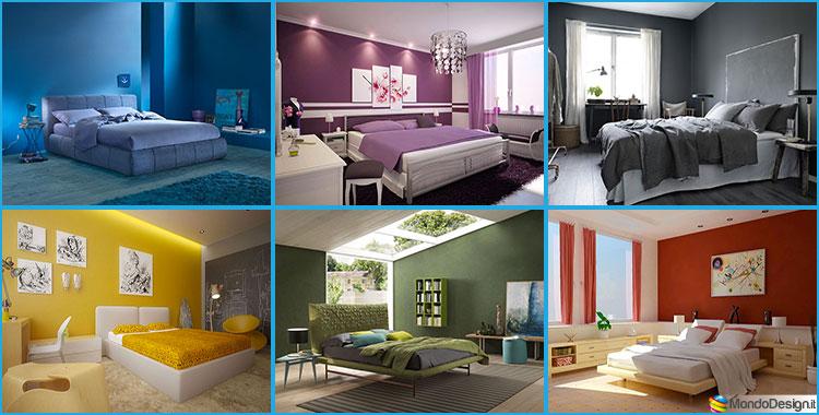 Il giusto colore per le pareti della tua camera da letto ...